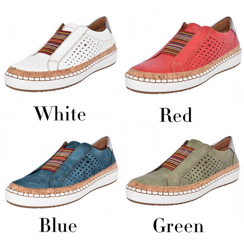 ADISPUTENT Leather Loafers Casual Shoes Women Slip-On Sneaker Comfortable Loafers Women Flats Tenis Feminino Zapatos De Mujer 10