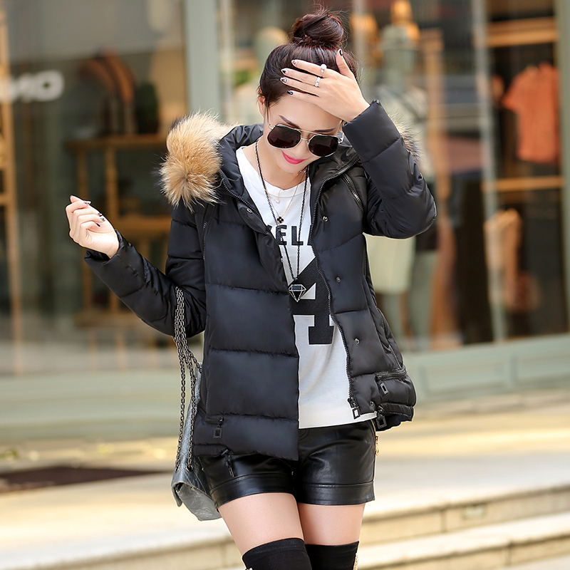Thicken Warm Winter coat Fur Collar Women coat Winter cotton Coat Jacket Outwear Fashion Casual Thick Warm Down Jacket over coatОдежда и ак�е��уары<br><br><br>Aliexpress