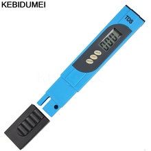 Digital LCD Water Quality Testing Pen Purity Filter TDS Meter Tester 0-9999 PPM Temp Pen for Aquarium Pool drinking water(China)