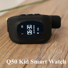 Original Q50 GPS Kid Smart Watch Anti Lost GPS Tracker Smartwatch OLED Screen Clock Support 2G Network SIM Card for Android IOS(China)
