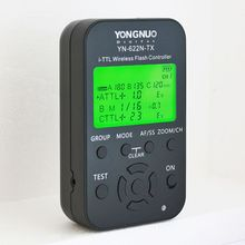 Yongnuo Flash Trigger YN-622NTX 622NKIT 622N-RX Reciver i-TTL HSS 2.4G 1/8000s TTL Wireless Flash Controller with LED Screen(China)