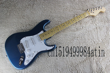 Free shipping Factory HOT wholesale Custom Body Stratocaster F ST SSS Electric Guitar in stock   @16