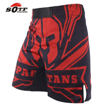 SOTF Sports Fitness Scorpion Pattern Boxing Sports MMA Fight Shorts kickboxing shorts muay thai boxing Tiger Muay Thai mma