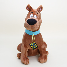 33cm Anime cute cartoon toys Soft Plush Cute Scooby Doo Dog Dolls Stuffed Toy New for kids chrismas gifts(China)