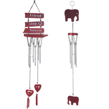 48cm Hanging Wind Chimes  Carillon Outdoor Living Yard Wind Chimes Garden 4 or 6 Tubes Bells Newest Handmade Decoration Gift