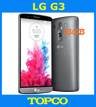 "LG G3 D855 Original Unlocked GSM 3G&4G Android Quad-core RAM 2GB 5.5"" 13MP WIFI GPS 16GB Mobile Phone dropshipping"