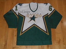 Dallas Stars 16 BOBBY HUL 2005 CCM Throwback Stitched Vintage Hockey Jerseys Embroidery Stitched Customize any number and name