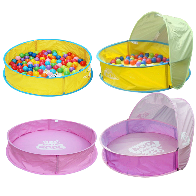 Foldable Large PVC Children Swimming Pool Play With Ocean Ball Play Basin Playground 100*26*66CM Zwembad Piscinas <br><br>Aliexpress
