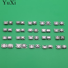 YuXi  Micro USB Jack connector USB Charing Connector for Cell Phone mobile /Smart Phone 20models