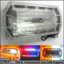 "CIRION 600MM 24"" VEHICLES MAGNETIC LED LIGHT BAR ROOF STROBE BEACON RECOVERY EMERGENCY LIGHTS FLASHING RED BLUE AMBER WHITE 56W"