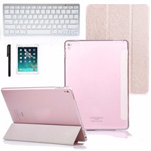 "Computer Accessories Faux Leather Case Cover with Bluetooth Wireless Keyboard for iPad Pro 9.7"" Gift"