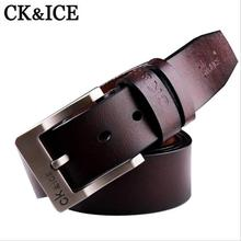 2017 Designer Belts Men High Quality Cow Genuine Luxury Leather Men Belts Genuine Leather Strap Male Pin Buckle Masculino(China)