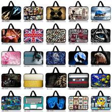 7 10 12 13 14 15 17 inch laptop bag netbook sleeve case with handle handbag computer notebook cover pouch