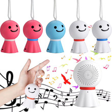 Sunny Doll Bluetooth toy 4.0 Mic TF Super Bass Portable Wireless Speaker 2017 Creative Birthday Gifts B# dropshipping(China)