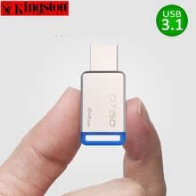 Kingston USB Flash Drive Pendrive 8gb 16gb 32gb 64gb 128gb USB 3.1 Pen Drive Disk Metal cle USB 3.0 Flash Memory Stick U Disk(China)