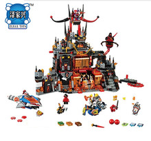 Knights Volcano Lair Combination Building Blocks Bircks Figures Kits Toys Compatible SY801 Lepins14019 Nexus - NeverLand funny toy Store store