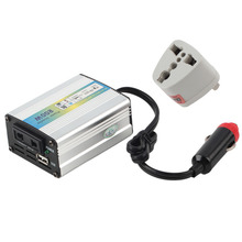 CATUO 1pcs DC 12V to AC 220V Car Auto Power Inverter Converter Adapter Adaptor 200W USB Power Inverter Adapter Free Shipping(China)