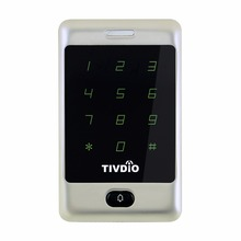 TIVDIO T-AC01 RFID Access Control Touch Keypad Door Access Control System 125KHZ KDL Metal Case Shell Backlight Keypad F9503D(China)