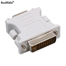kebidu Hot VGA M Male to DVI F Female Video Converter Adapter 24+5 Pin for computers PC laptop New arrival In stock(China)