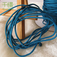 Braided Color Rope Polypropylene Sailing Cord Line String Craft 2.5-3mm Blue QXRY-38