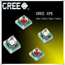 5pcs/lot US.CREE XPE Beads Red Green Blue Yellow 3W High Power LED Chip(China)