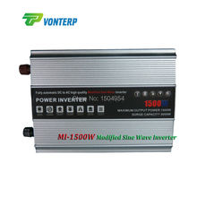 DC to AC High Frequency Modified Sine Wave Power inverter 1500W Dc 48v to AC110v 50hz 1500W Modified Sine Wave Inverter(China)
