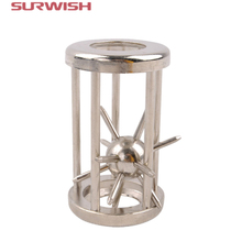Surwish Trapped Satellite Metal Puzzle IQ Brain Teaser Disentanglement Game for Children Adults GH7102(China)