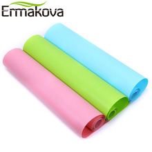 ERMAKOVA Kitchen Drawer Mat Shelf Cabinet Storage Pad Wardrobe Anti-slip Anti-Bacteria Cushion Moisture Proof Table Cupboard Mat(China)