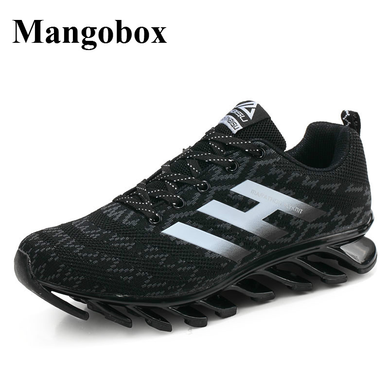 Cool Sneakers Men Wearable Runing Shoes For Men Blue/Black Mens Sport Shoes Sneakers Non-Slip Men Run Free Running Shoes<br>