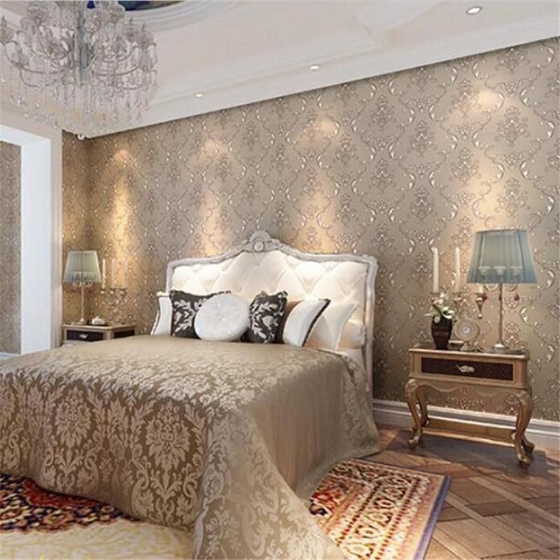 Beibehang Free Shipping American Pastoral Plain wallpaper papel de parede Wallpaper Bedroom Living Room TV Background Wallpaper<br>