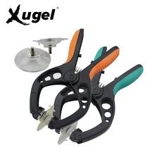 Xugel Mobile Phone LCD Screen Opening Pliers 2 Colors Suction Cup for iPhone iPad Samsung Cell Phone Repair Tool(China)