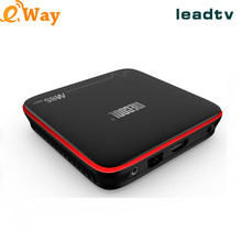 Arabic IP TV M8S PRO W S905W Quad Core 2.4G WIFI 2G 16G Support Arab French Tunisia Europe Channels LeadTV Arabic IPTV Box(China)