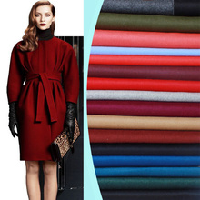 17 colors double-sided cashmere fabric autumn and winter special thickening coat wool fabric export cashmere fabric wool cloth(China)