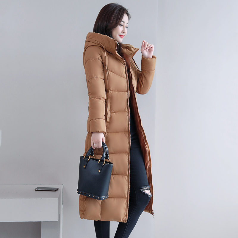 Plus Size 4XL 5XL 6XL womens Winter Jackets Hooded Stand Collar Cotton Padded Female Coat Winter Women Long Parka Warm Thicken 27