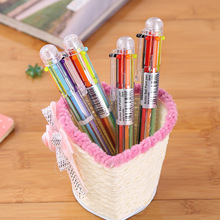 Stationery School Supplies Rollerball Multicolor Ballpoint Pen Luxury Roller Ball Pens for Writing Novelty Office Accessories
