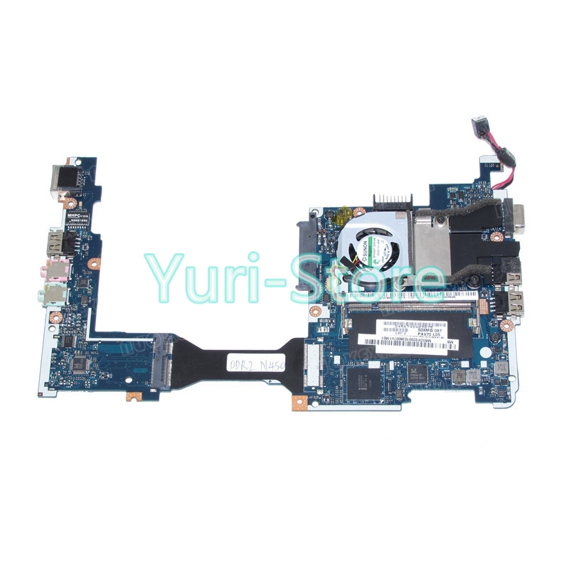 PAV70 LA-6221P MBSDF02001 MB.SDF02.001 laptop motherboard For acer aspire one D255 D255E Atom N450 1.6GHz mainboard(China)