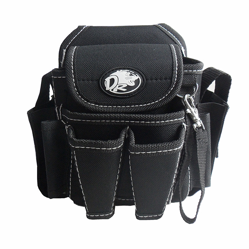 Tool Bag 19x12x18cm  Repair  waist packs bags with belt small pockets high-grade Electrician multifunction Bodypack Versatile<br>