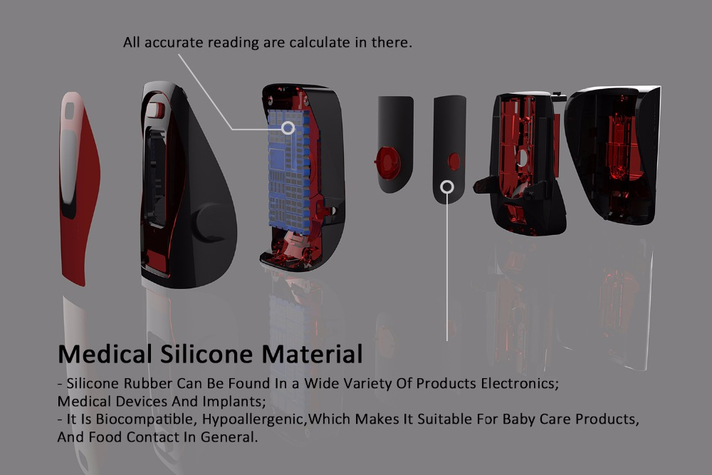 Household Health Monitors Finger Pulse Oximeter ABS Silicone Sensor Equipment Pulsioximetro OLED SPO2 Heart Rate Monitor-NEW 4