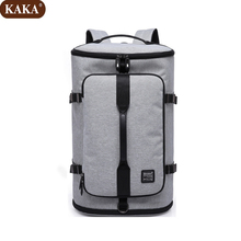 "KAKA New 16"" Laptop Backpack High Quality Nylon Women Bag Multi-function Student School Bag Rucksack 2018 Free Shipping D257(China)"