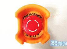 5 set normal close Waterproof 22mm Mushroom emergency stop e-stop switch Weather Pack push button switch(China)