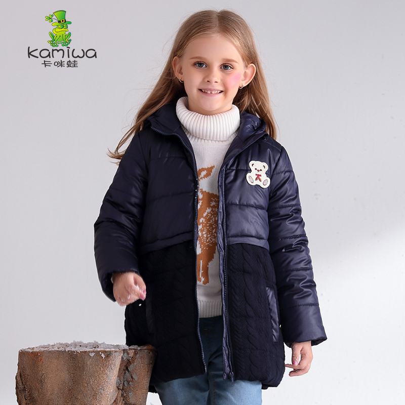 Girls Winter Coats And Jackets 2017 Giraffe Kids Outwear Down Jacket Girls Clothes Parkas Children Baby Girls Clothing down coat<br>