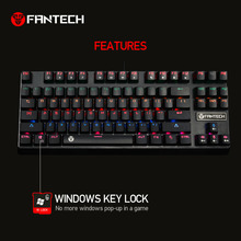 FANTECH MK871 Profession Gaming Gamer Mechanical 87 Keys Keyboard Ergonomic Design Keyboard For Long Time Use