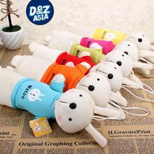 Unique Gifts Sweet Cute rabbit Metoo Plush toys cute bunny cartoon pencil case stationery package kids gifts