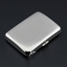16 Cigarette Box Metal Cigarette Box Portable Cigaret Box(China)