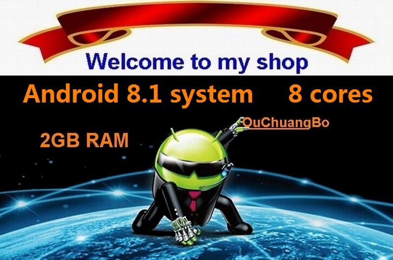 android 8.1_2GB RAM 32GB ROM_8 core