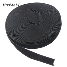 "Hoomall 10 Yards Black 5/8"" Wide 16.2mm Wide Velvet Ribbon Sewing Accessories"