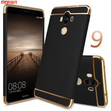 huawei mate 9 case cover huawei mate9 back cover accessories MOFi original capa coque funda luxury assemble housing blue 5.9inch