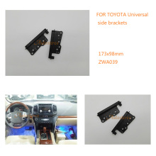 Car Auto Radio Fascia Frame For TOYOTA Universal Side Brackets Stereo Fascia Dash CD Trim Installation Kit ZWA11-039