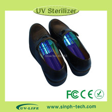 Health care Sterilizing bacteriostatic wand for shoes by UV-C ultraviolet light UV shoe sanitizer UV shoes deodorizer