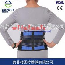 by ems or dhl 100pcs Excellent Adjustable Neoprene Double Pull Lumbar Support Lower Back Belt Brace Pain Relief(China)